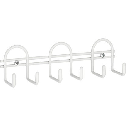 Picture of Closetmaid White Utility Hook Rail