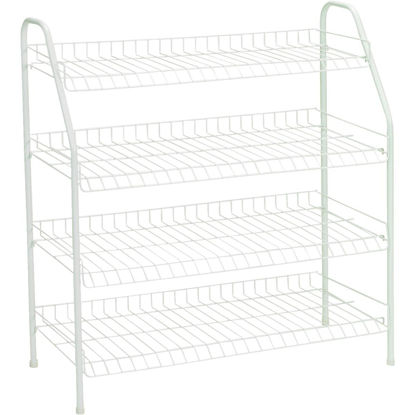 Picture of ClosetMaid 4-Tier Freestanding Shoe Rack