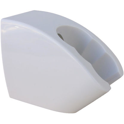 Picture of Lasco 3- Position Wall Mount White Plastic Shower Bracket