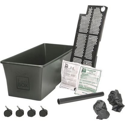 Picture of EarthBOX 14 In. W. x 11 In. H. x 29 In. L. Black Plastic Garden System