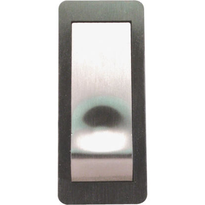 Picture of IQ America Wireless Satin Nickel Contemporary Doorbell Push-Button