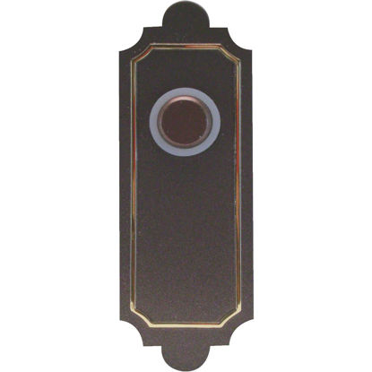 Picture of IQ America Wireless Antique Bronze Southwest Style Doorbell Push-Button