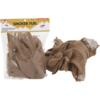 Picture of Little Giant 6.75 In. W. x 1.5 In. H. x 9.5 In. L. Burlap Smoker Fuel Beehive Tool