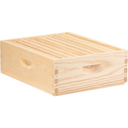 Picture of Little Giant 16.25 In. W. x 6.5 In. H.x 19.875 In. L. Assembled Medium Beehive, 10 Frames