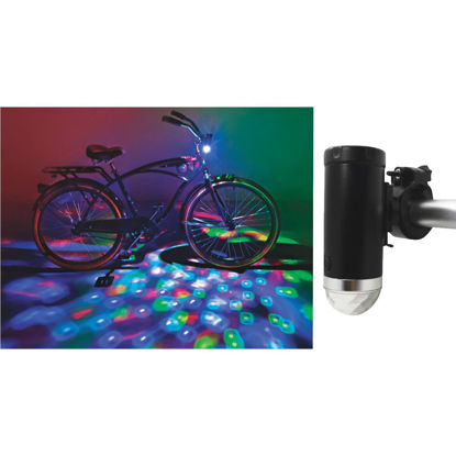 Picture of Cruzin Brightz LED Multi-Color Bicycle Light