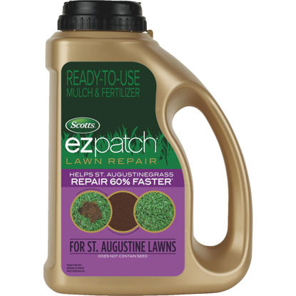 Picture of Scotts EzPatch For St. Augustinegrass 3.75 Lb. 85 Sq. Ft. 2-0-0 Lawn Fertilizer & Mulch
