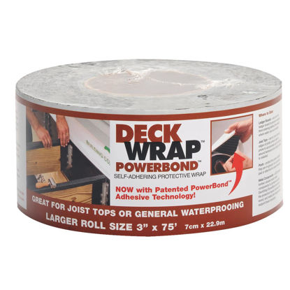 Picture of Power Bond DeckWrap 3 In. X 75 Ft. Deck Flash Barrier