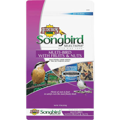 Picture of Audubon Park Songbird Selections 15 Lb. Fruit & Nut Wild Bird Seed