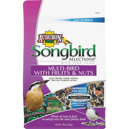 Picture of Audubon Park Songbird Selections 5 Lb. Fruit & Nut Wild Bird Seed