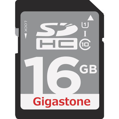 Picture of Gigastone Prime Series 16 GB SDHC Card