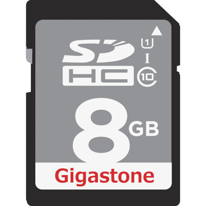 Picture of Gigastone Prime Series 8 GB SDHC Card