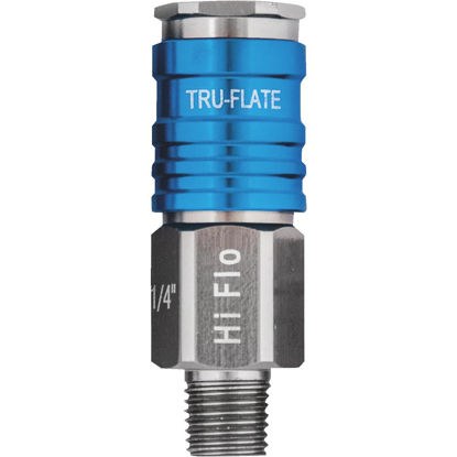 Picture of Tru-Flate Hi Flo 1/4 In. Body Series Male Coupler