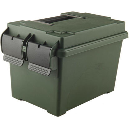 Picture of MTM 500-Round CapacityPolypropylene 7 In. W. x 7.25 In. H. x 11 In. L. Ammo Can