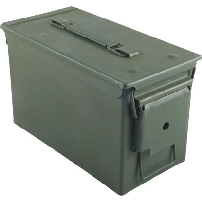 Picture of B-Way 500-Round Capacity Steel 6.1 In. W. x 7.5 In. H. x 12 In. L. Ammo Can