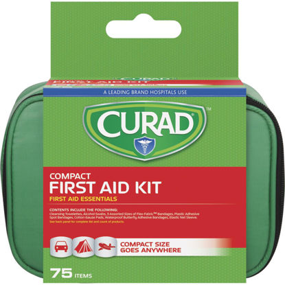 Picture of Curad Compact First Aid Kit (75-Piece)