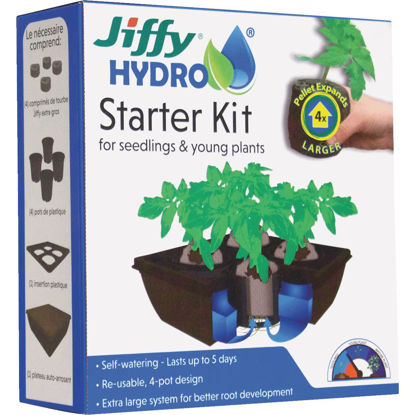 Picture of Jiffy Hydro 4-Cell Seedling Hydroponic Starter Kit