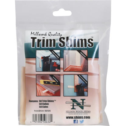 Picture of Nelson Wood Shims Trim Shim 1 In. W. x 3.5 In. L. Shim (50-Pack)