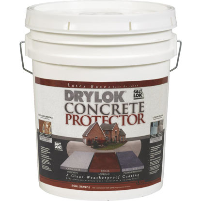 Picture of Drylok Clear Concrete Sealer Protector, 5 Gal.