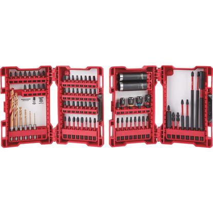 Picture of Milwaukee Shockwave 75-Piece Impact Duty Drill and Drive Set