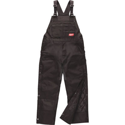 Picture of Milwaukee Gridiron Large Black Polyester Bib Overalls