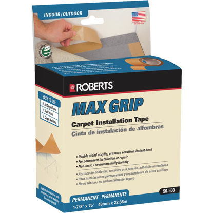 Picture of Max Grip 1.88 In. x 75 Ft. Indoor Carpet Tape