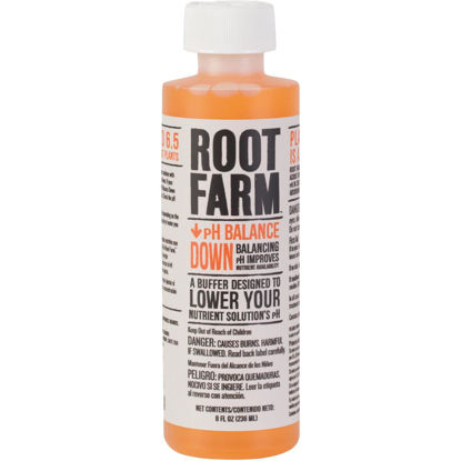 Picture of Root Farm 8 Oz. Concentrated Liquid pH Balance Down For Nutrient Solution