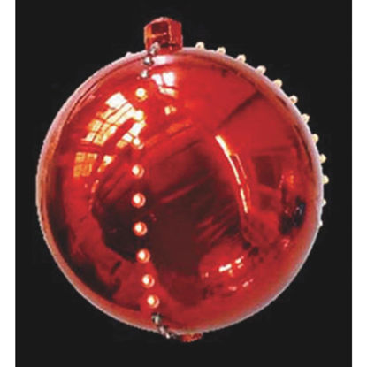 Picture of J Hofert 4 In. LED Lighted Red Falling Snowball