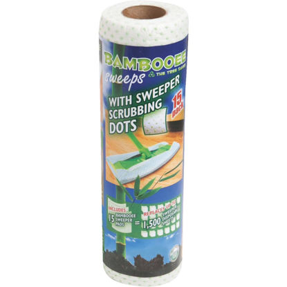 Picture of Bambooee Scrubbing Dots Sweeper Pad