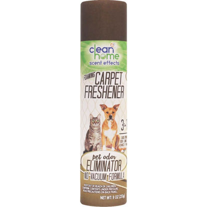 Picture of Clean Home Scent Effects Foaming Carpet Freshener Pet Odor Eliminator