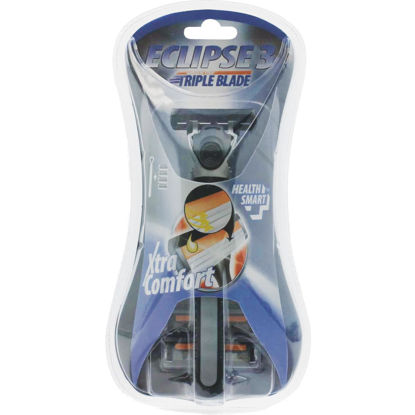 Picture of Health Smart Mens 3 Blade Razors (4-Pack)