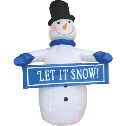 Picture of Southern Joy 12 Ft. Let it Snow Snowman Airblown Inflatable