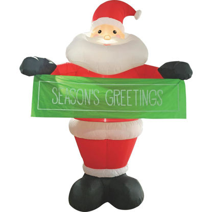 Picture of Southern Joy 12 Ft. Seasons Greetings Santa Airblown Inflatable