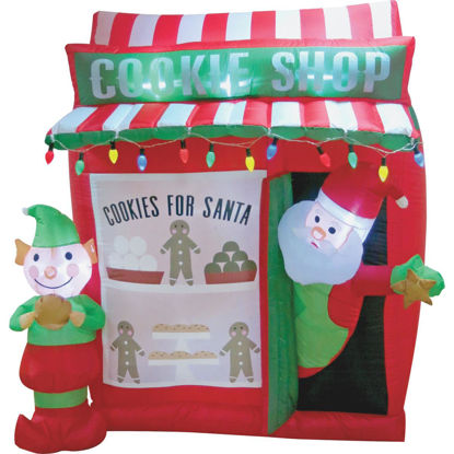 Picture of Southern Joy 6 Ft. Santa Cookie Shop Airblown Inflatable