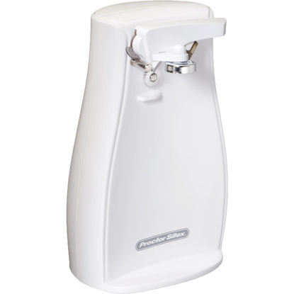 Picture of Proctor Silex Power Opener White Electric Can Opener