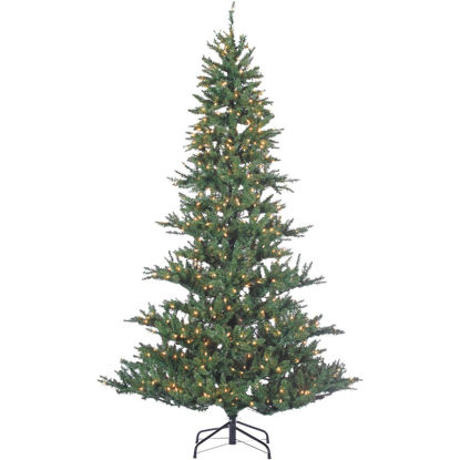 Picture of Sterling 7.5 Ft. Riverside Spruce 650-Bulb Clear Incandescent Prelit Artificial Christmas Tree