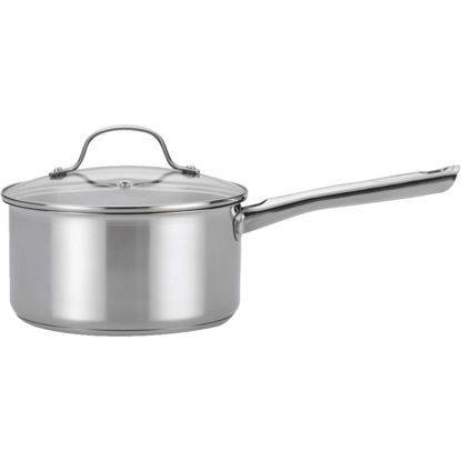 Picture of T-Fal 3 Qt. . Stainless Steel Silver Sauce Pan