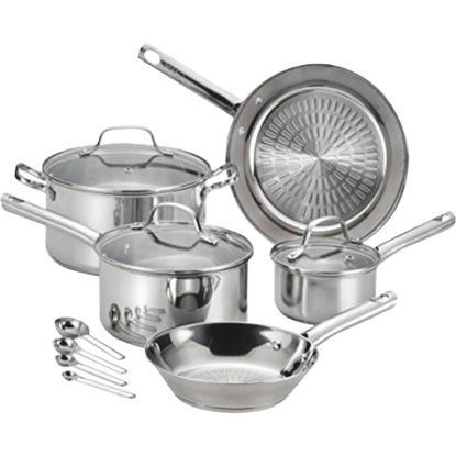 Picture of T-Fal Performa Stainless Steel Cookware Set (12-Piece)