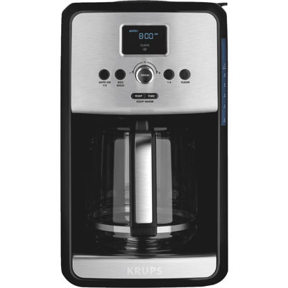 Picture of Krups Savoy 12 Cup Programmable Stainless Steel Coffee Maker