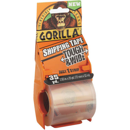 Picture of Gorilla 2.83 In. W. x 35 Yd. L. Clear Shipping Tape