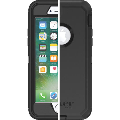 Picture of Otterbox Defender Series iPhone 7 Black Cell Phone Case