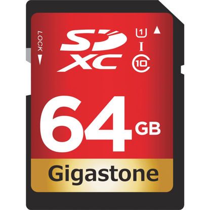Picture of Gigastone Prime Series 64 GB SDHC Card