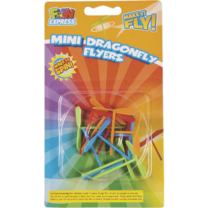 Picture of Fun Express Mini Dragonfly Flyers (12-Pack)