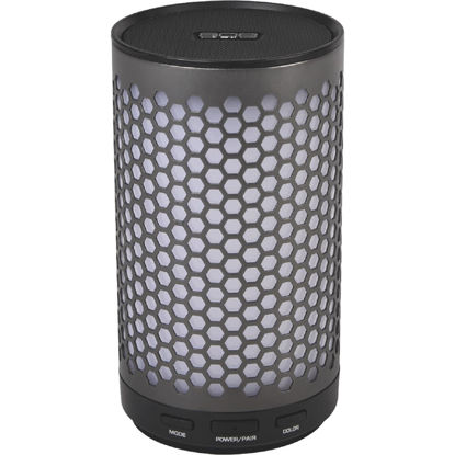 Picture of 808 Canz Glo Bluetooth Gun Metal Gray Wireless Speaker