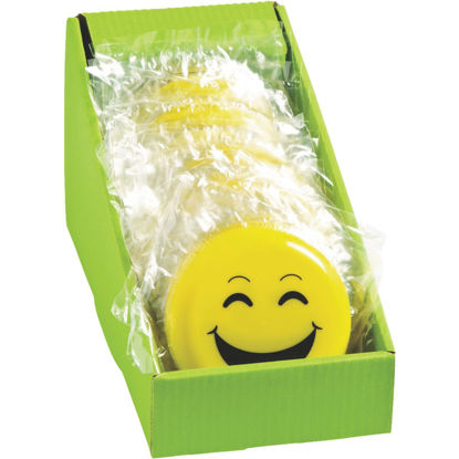 Picture of Fun Express 5 In. Yellow Emoji Flying Disc