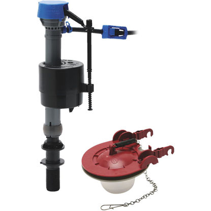 Picture of Fluidmaster PerforMAX Toilet Fill Valve & 3 In. Adjustable Flapper Toilet Repair Kit