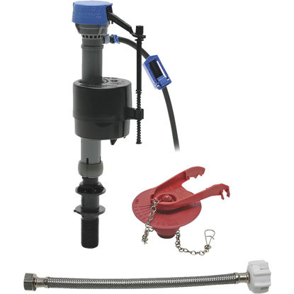 Picture of Fluidmaster PerforMAX Fill Valve, Adjustable Flapper & 12 In. Universal Click Seal Toilet Connector