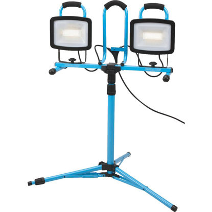 Picture of Channellock 13,200 Lm. LED Twin Head Tripod Stand-Up Work Light