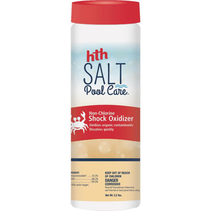 Picture of HTH Salt Pool Care 2.2 Lb. Non-Chlorine Shock Oxidizer Granule