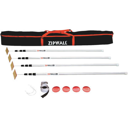 Picture of ZipWall Dust Barrier Kit
