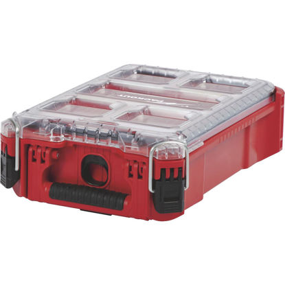 Picture of Milwaukee PACKOUT 9.75 In. W x 4.50 In. H x 15.25 In. L Compact Small Parts Organizer with 5 Bins